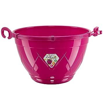 Panier A Suspendre Avec Soucoupe Monte Lilia 17 5 Cm Violet Pot De