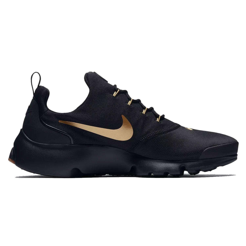 El precio más bajo Nike Hombre Presto Fly Running Sneaker Zapatos Negro/Metallic Oro/Gum 489WS