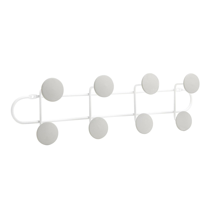 21.8 x 3.8 x 5.7 cm Metall Umbra 1004246-910 Yook Schl/üsselhaken wei/ß//grau Wei/ß // Grau