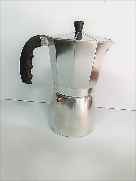 PAMEX Cafetera Italiana 12 Tazas café Aluminio Pulido cocinas ...