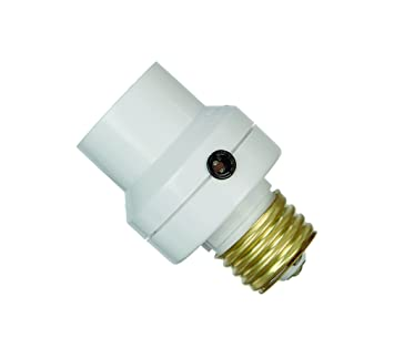 Photocells For Outdoor Lights: Dusk to Dawn Light Activated Socket for Lamps and Fixtures,Lighting