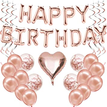 Happy Birthday Bunte Folienballons Buchstabenballons Luftballon Geburtstag Deko