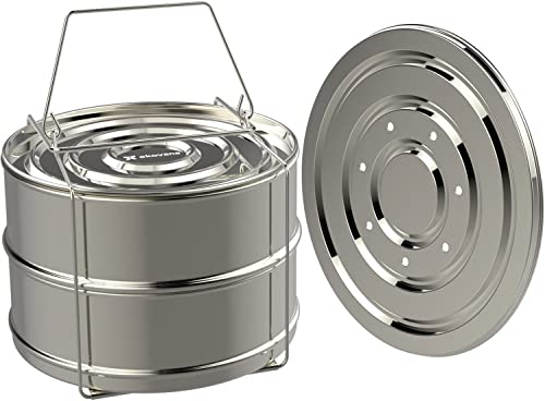Ekovana Stackable Steamer Insert Pans