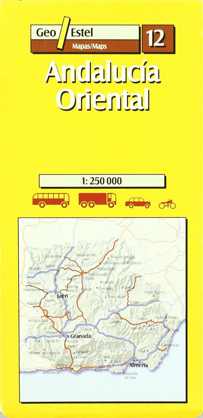 andalucia oriental 12 1/250.000