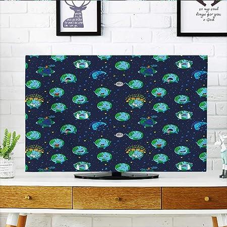 Auraisehome - Lámina de Dibujos Animados de Colores para Proteger tu televisor, diseño de Cara Sonriente: Amazon.es: Hogar