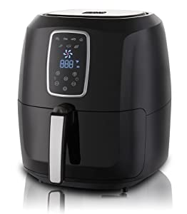 Emerald Electric Air Fryer with LED Touch Display- 5.2L Capacity (1804)