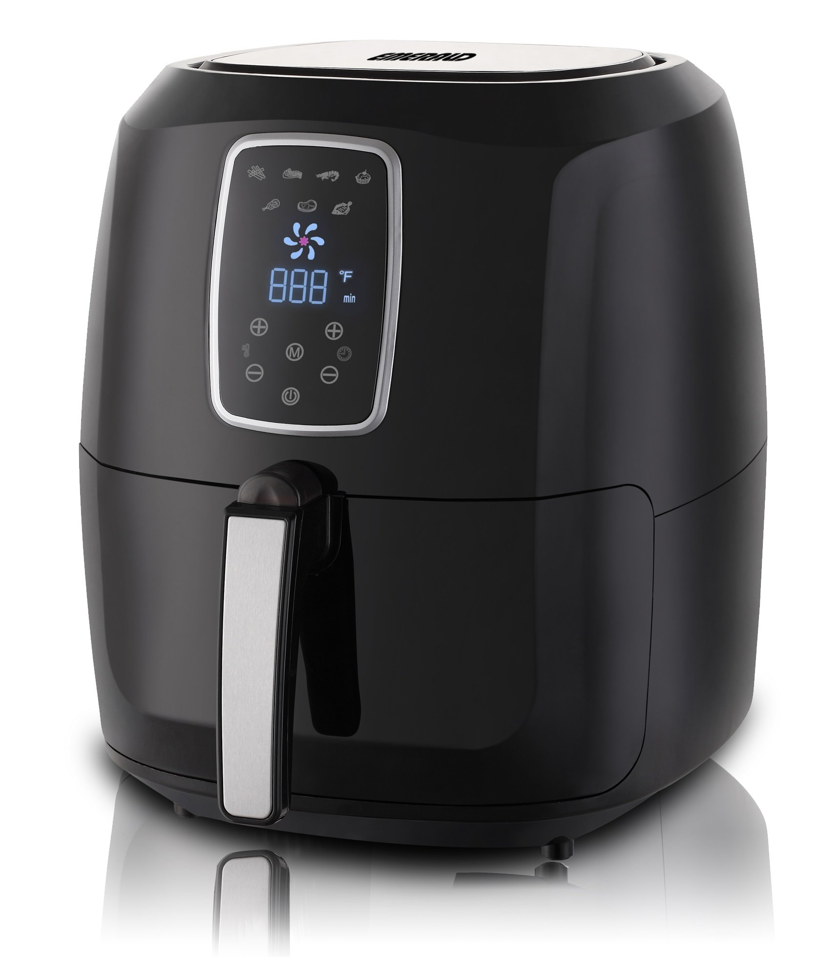 Electric Air Fryer with LED Touch Display- 5.2L Capacity (1804)