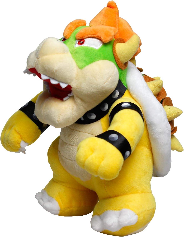GOOSEN78 Bowser Plush, Bowser Toys, Super Mario Plush, All Star Collection, Stuffed Animals, Plush Toys 10 in, Yellow