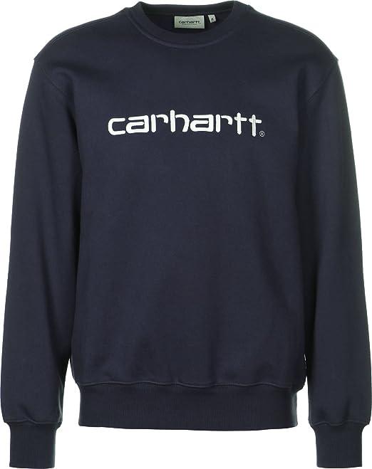 Carhartt WIP Sudadera dark navy/wax