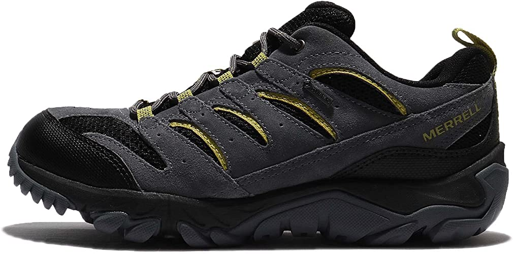 Merrell Mens White Pine Vent Low Waterproof Hiking Shoes