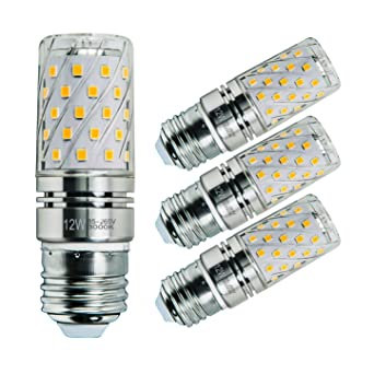 Sagel E27 LED Bombillas de Maíz 12W, 100W Bombillas Incandescentes Equivalente, 3000K Blanco Cálido