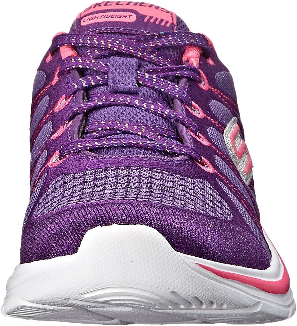 Little Kid//Big Kid 81499L Skechers Kids Swift Kicks Bling Thing Lace-Up Sneaker