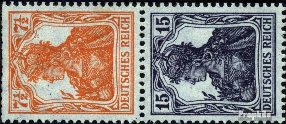 diseños exclusivos Prophila Collection alemán Imperio S8bb S8bb S8bb 1917 Germania (Sellos para los coleccionistas)  caliente
