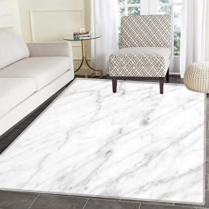 . Amazon com  Marble Floor Mat Pattern Carrara Marble Tile Surface