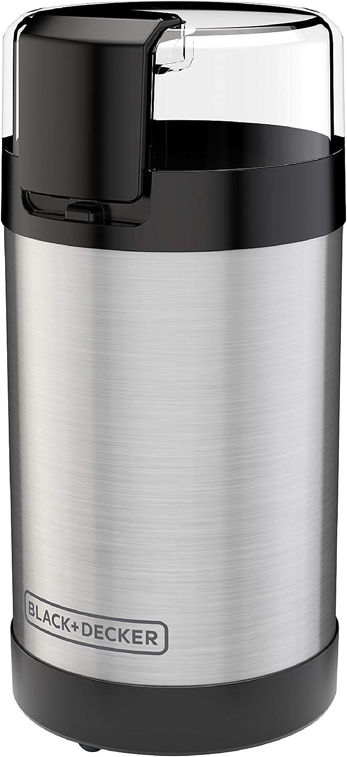 BLACK+DECKER , 2/3 Cup Coffee Bean Capacity, Stainless Steel   Amazon