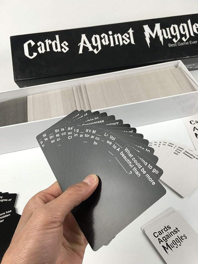 VJUKUB Cartas contra Muggles Harry Potter Juego de Cartas ...