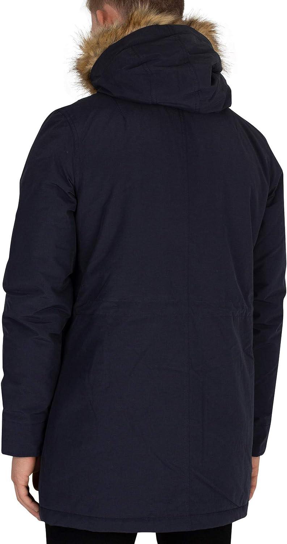 Lyle /& Scott Herren Microfleece gefütterte Zip Jacke Blau