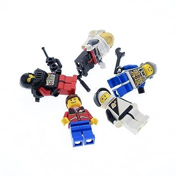 Bausteine Gebraucht 5 X Lego System Figuren Astronaut Raumfahrer