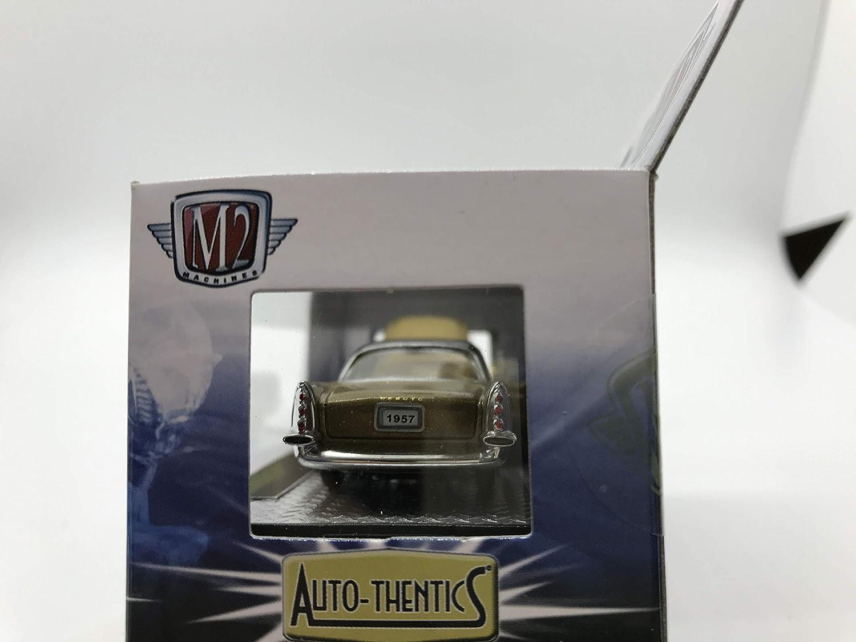 M2 Machines by M2 Collectible Auto-Thentics 1957 DeSoto Adventurer R31 14-64 Hazel//Black Details Like NO Other!