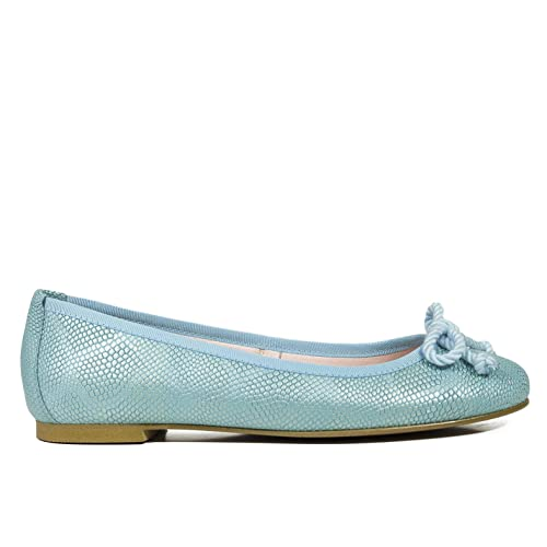 6af88f9f5c9 Zapatos miMaO. Zapatos Piel Mujer Hechos EN ESPAÑA. Bailarinas Mujer.  Manoletinas Serpiente. Zapato Cómodo Mujer con Plantilla Confort Gel   Amazon.es  ...