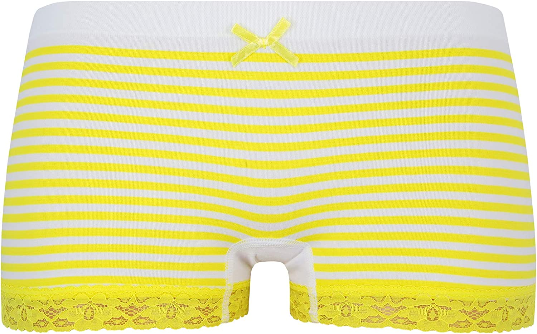 ReKoe 10er Pack Damen Hotpants Microfaser Frauen Panty Dessous Unterhose S//M L//XL Hipster Slip Verschiedene Set