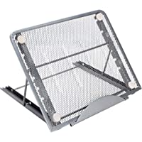 ODLICNO Mesa Laptop, Bastidor de Enfriamiento para Computadora Portátil Plegable, Soporte de Aluminio Ajustable Portátil…