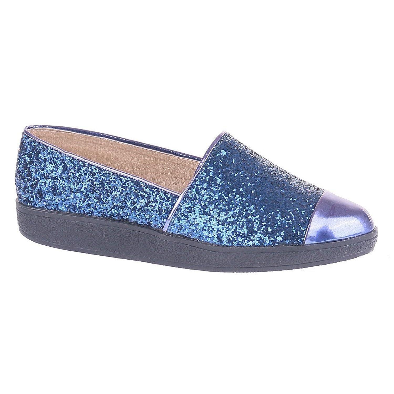 catisa-bal4 _ lu1503-ballerine-femme Blue Size: 5: Amazon.co.uk: Shoes &  Bags
