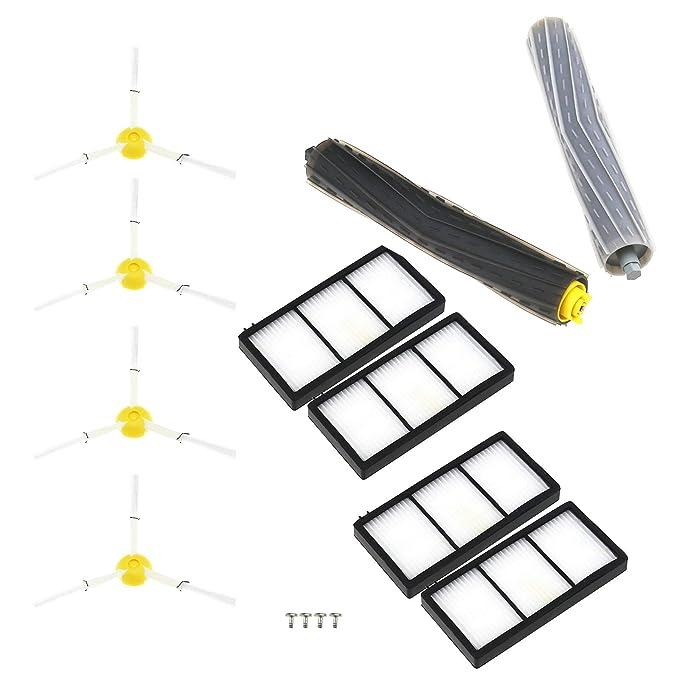 Kit de repuesto de 14 piezas para iRobot Roomba 800 y 900 Serie ...