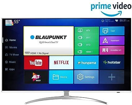 Blaupunkt 139 7 cm (55 inches) 4K Ultra HD QLED Smart TV BLA55QL680 (Black)  (2019 Model)