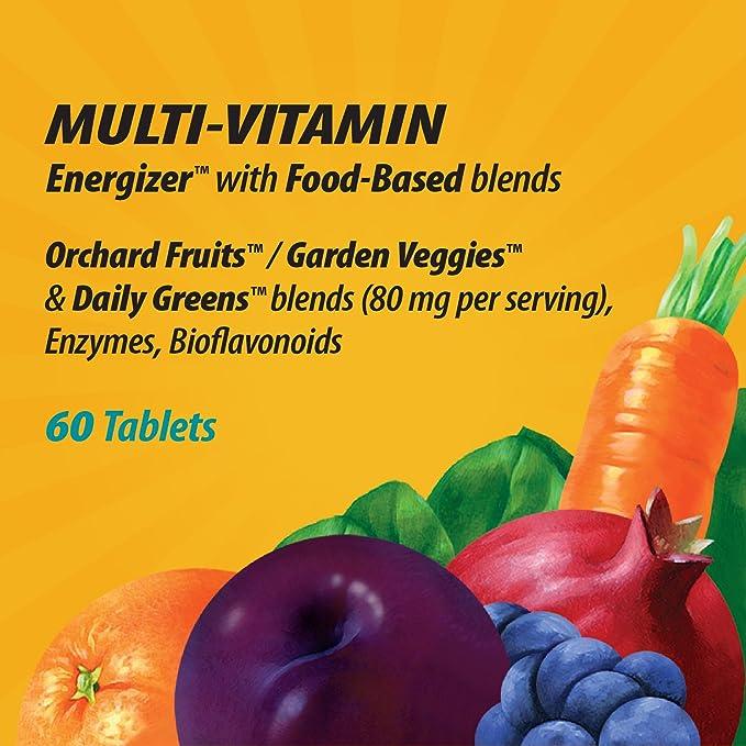 Natures Way - Multi-Vitamina de los hombres una vez diarios vivos y del alimento del activador potencia entera ultra - 60 tabletas: Amazon.es: Salud y ...