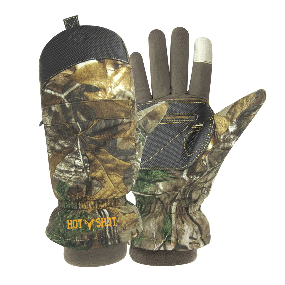 Hot Shot Men's Predator Pop-Top Mitten Jacob Ash