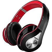 Mpow Bluetooth Kopfhörer over Ear, [Bis zu 20 Std] Kabellose mit Hi-Fi Stereo mit Dual 40mm Treiber, CVC 6.0 Noise Canceling für Integriertem Mikrofon Freisprechen, Faltbare & Snug Earmuffs