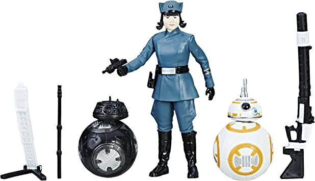 Star Wars Force Link Rose (First Order Disguise), BB-8, BB-9E Pack ...