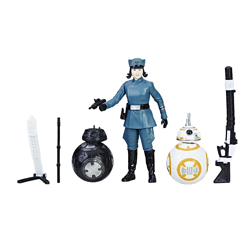 Star Wars Rose First Order Disguise BB 8 und BB 9E Figuren Set