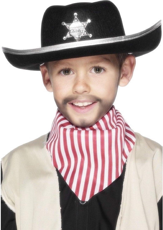 Niña Niños Niño Negro Sheriff Vaquero Lejano Oeste Disfraz ...