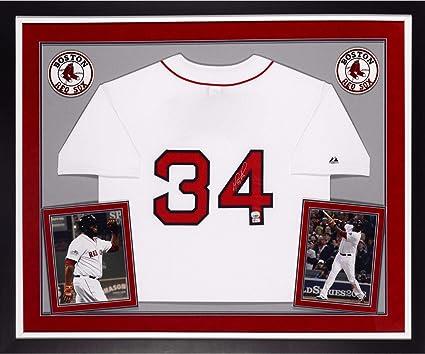 promo code d4120 e6e1d David Ortiz Boston Red Sox Autographed Deluxe Framed ...