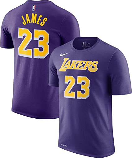 sale retailer 46036 8175a Amazon.com : Lebron James Los Angeles Lakers Statement ...