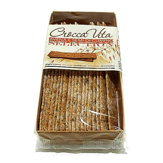 13 opinioni per Sfoglie di pane croccante con avena e semi di cumino Croccavita Selection- 3