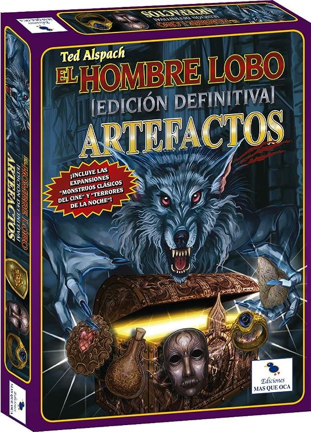 Ediciones MasQueoca - El Hombre Lobo Edicion Definitiva - Expansión Artefactos (Español): Amazon.es: Juguetes y juegos