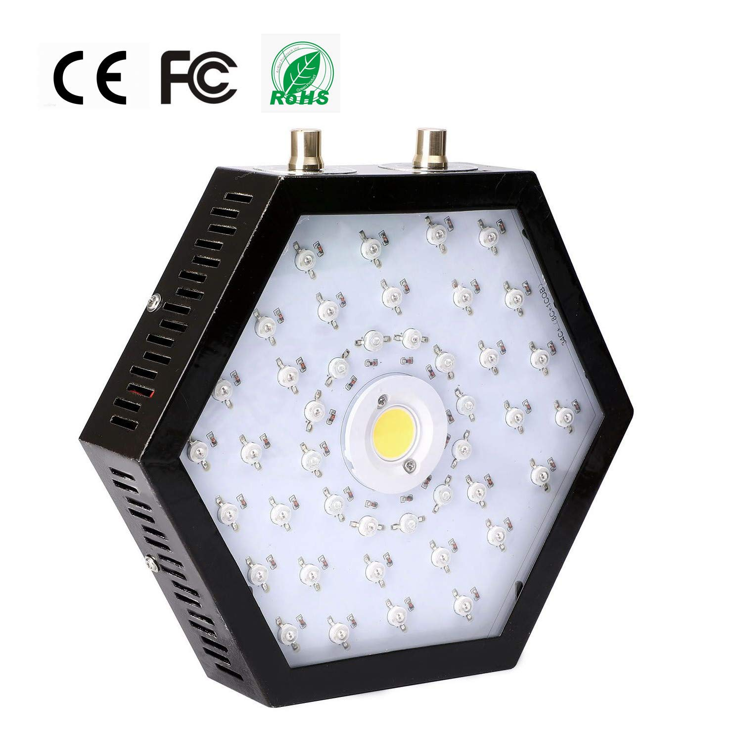 1000W COB LED Grow Light for Indoor Plant, Adjustable Full Spectrum Plant Light Growing Lamps with Veg and Bloom for Basement Planting. by EONPOW (Image #2)