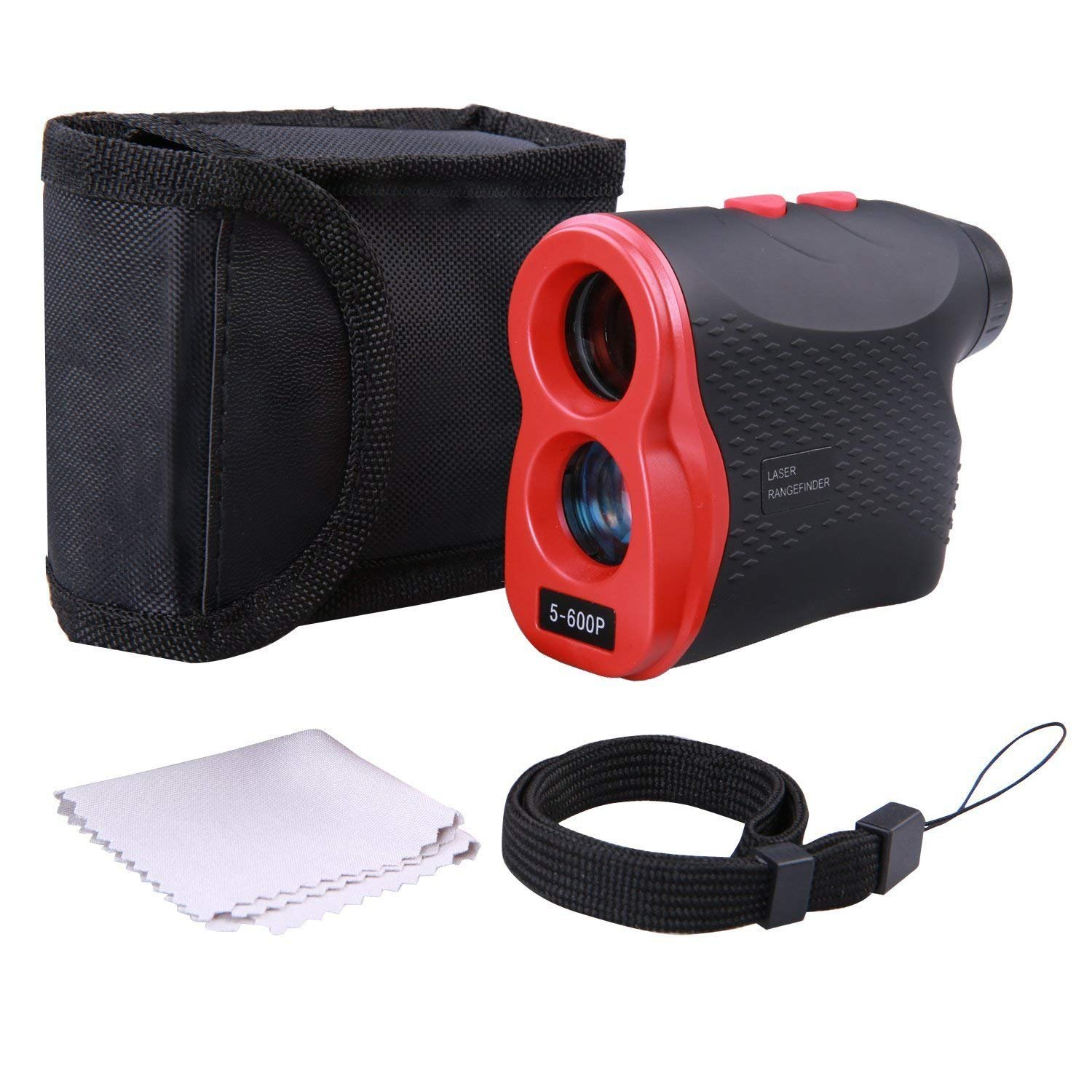 Golf Rangefinder,Laser Range Finder with Golf Distance for Horizontal Distance Height Speed Measurement, Golf Laser Rangefinder