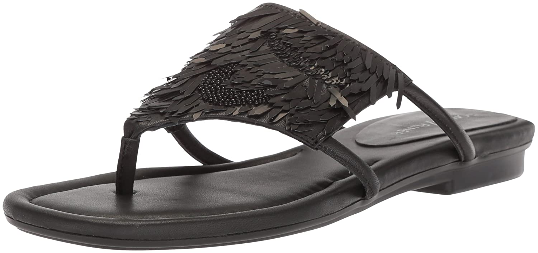 Donald J Pliner Women's Kya Slide Sandal B07559W4J7 6.5 B(M) US|Black
