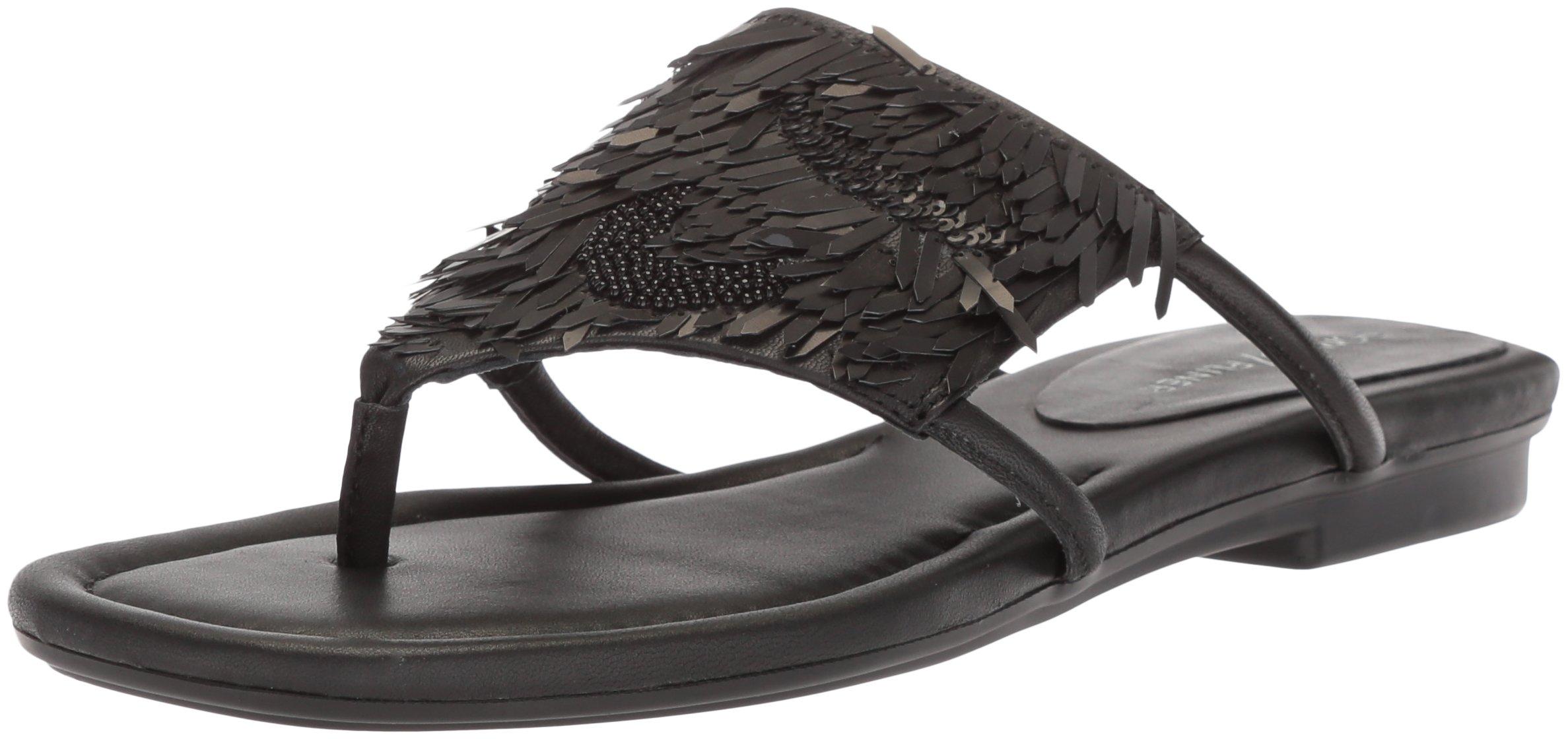 Donald J Pliner Women's Kya Slide Sandal, Black, 10 Medium US