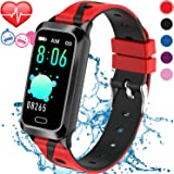 Inspiratek Kids Fitness Tracker for Girls and Boys Age 5-16 (5 Colors), Kids Activity Tracker, Fitness Watch for Kids - Fitness Tracker for Kids - Activity Tracker for Kids, Kids Step Tracker