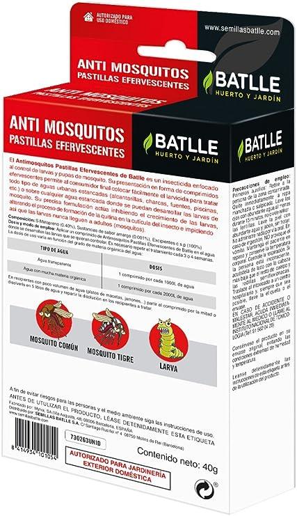 Fitosanitarios - Anti Mosquitos Pastillas Efervescentes - Batlle ...