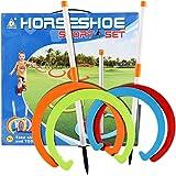 Acekid Kids Horseshoe Play Set Toss Games Sports Toys Classic Sports Playground Equipment