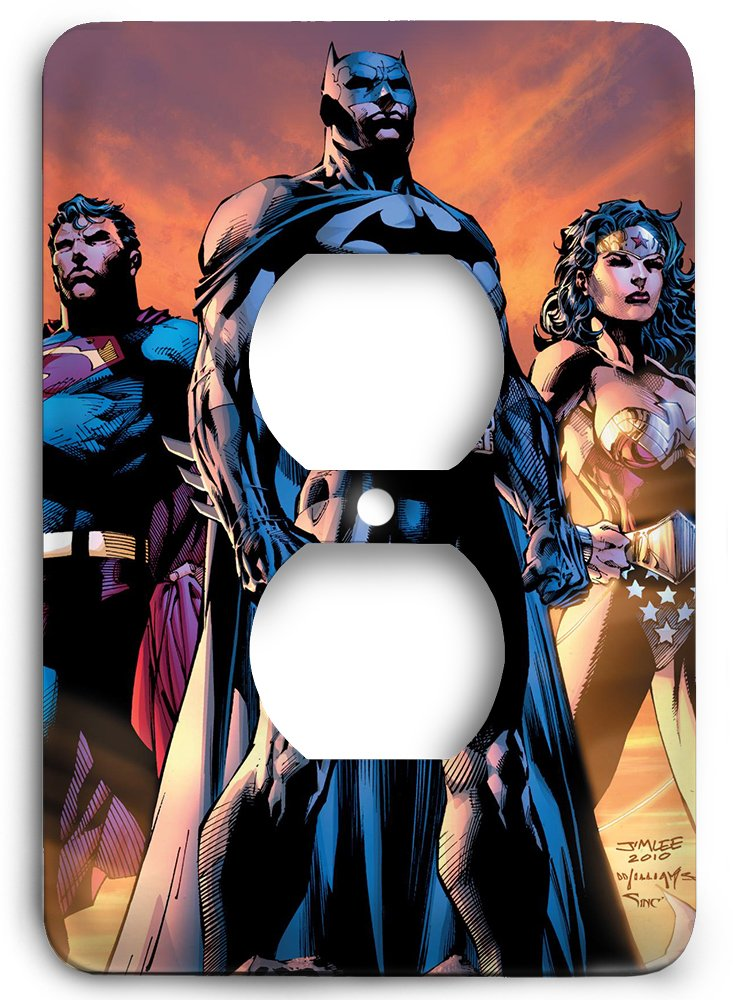ICONS Superman Batman Wonder Woman Outlet Cover by Outlet Cover
