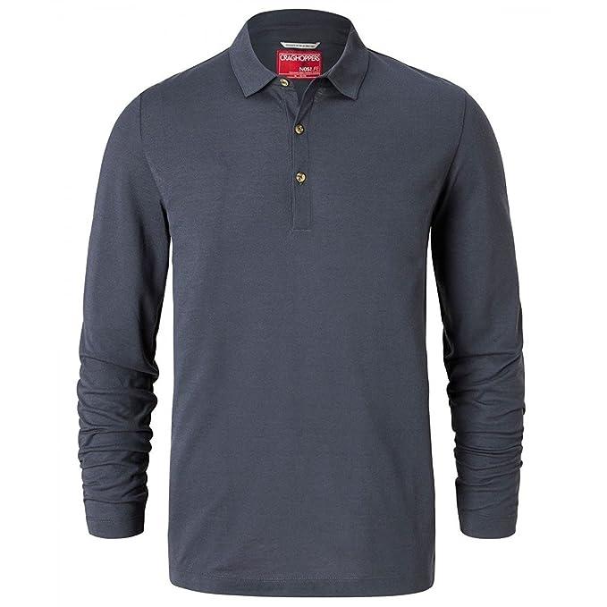 Craghoppers Hombre Nosilife ELLERBEK La Camiseta del Polo Ombre ...