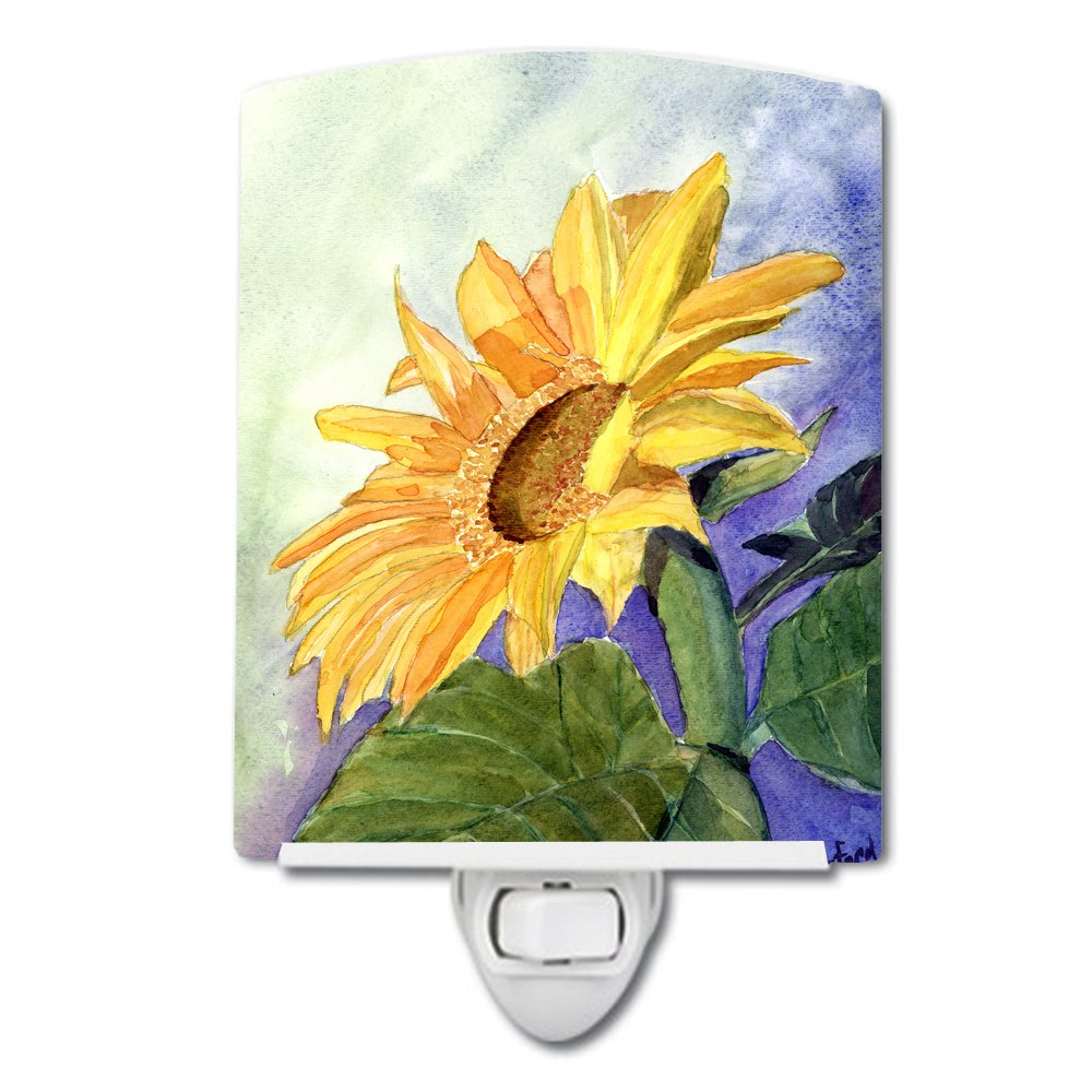 Caroline's Treasures Flower-Sunflower Night Light, 6'' x 4'', Multicolor