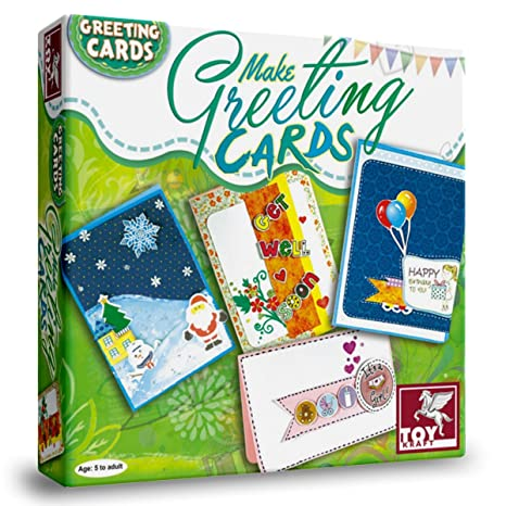 Toy Kraft Make Greeting Cards Multi Color